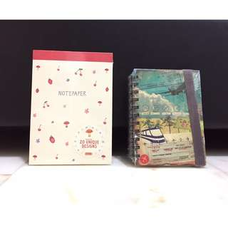 Notepad & Notebook (set of 2)