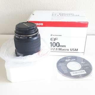 Canon efs 100mm f2.8 macro