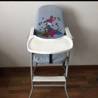 Baby high chair- foldable