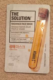 Radiance Face Mask with Vitamin C