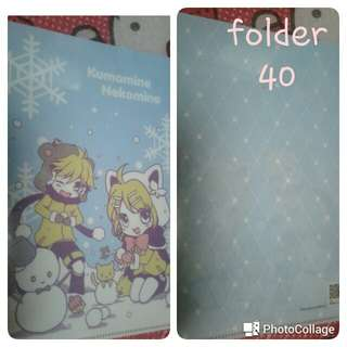 Vocaloid rin and len small folder