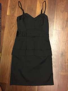 Black Dinner Satin Dress: Get 5 Free 1 *T&Cs