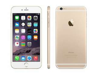 IPhone6 64GB 金 99.9新