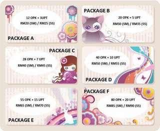 Pakej murah OPK+UPT
