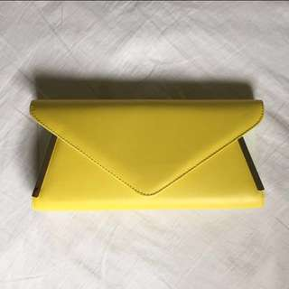 Aldo - Yellow Clutch/Cross Body Bag