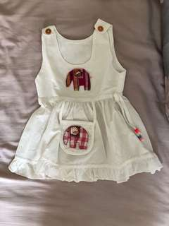 White Elephant Girl Dress