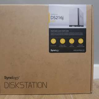 Synology DiskStation DS216j 2-bay NAS