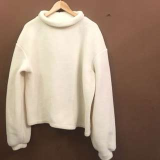 H&M White Sweater - Plus size