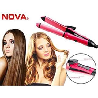 Nova 2 in 1 Hair Straightener and Curler