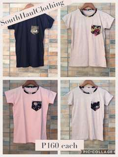 Trendy Tee/Shirt with Pocket