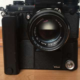Nikon MD-4 MD4 motordrive, F3 Camera not included