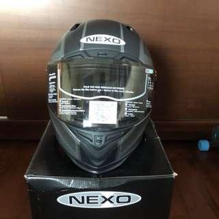 NEXO 1800A 消光黑AM3銀 尺寸L