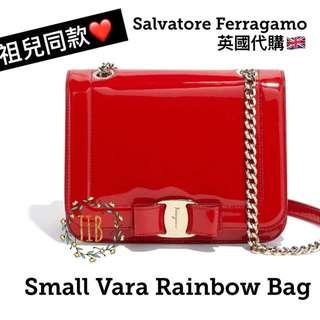Salvatore Ferragamo ❤️ SMALL VARA RAINBOW BAG
