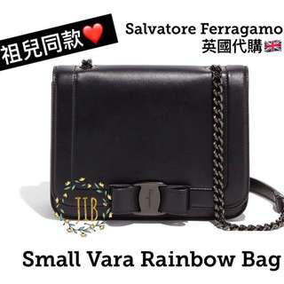 Salvatore Ferragamo ❤️ SMALL VARA RAINBOW BAG