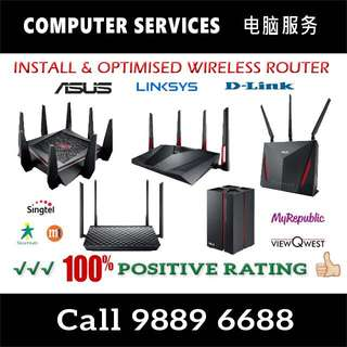 Wifi Router Installation / Troubleshoot