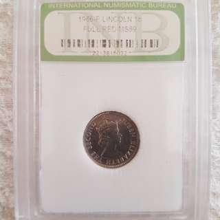 Coin queen Elizabeth  the second 10 cents 1961.