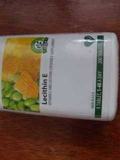 卵磷脂(Vita E 200 tables)有助脂肪於腸道及分散及维持血管健康)