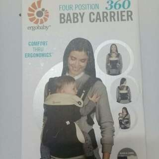 ErgoBaby 360 Baby Carrier with Box