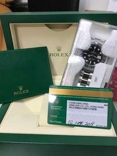 Sell全新Rolex GMT 116710LN,行貨888,亂碼藍光,新鮮滾熱辣,啱嘅PM