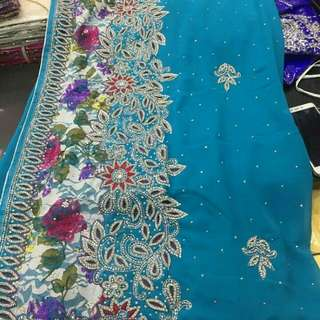 Saree Lilit Baju India full Swarovski