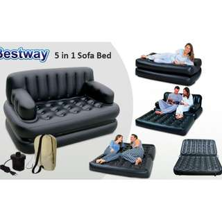Inflatable 5 in 1 Sofa Bed