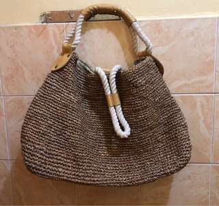 Rattan handbag 👜
