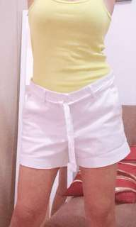 Yello green sleeveless top