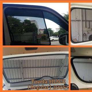 Hiace Sunshade 3pcs