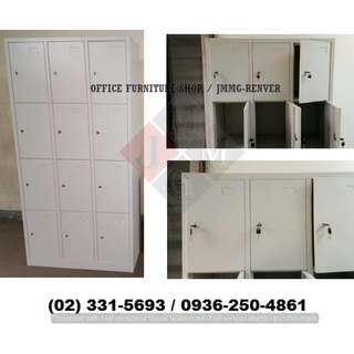 12 Door Steel Locker xx Affordable Price * Office Partition