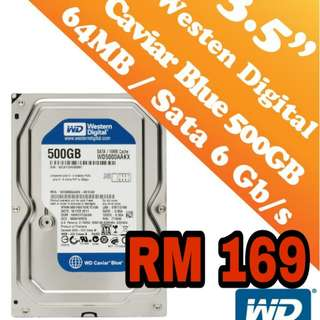 Hard Disk pc 500gb new