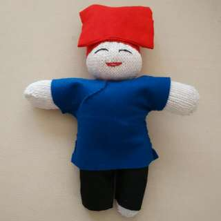 Samsui Doll Made From Glove