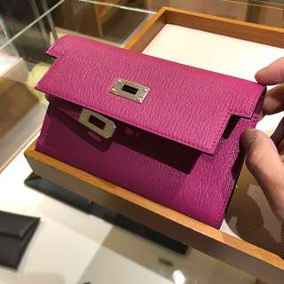 Hermes Kelly short wallet