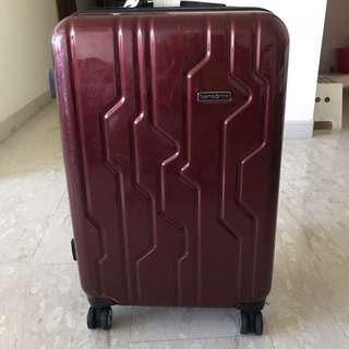 Samsonite Luggage red