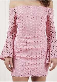 Bardot Celeste Lace Dress Marsh Pink