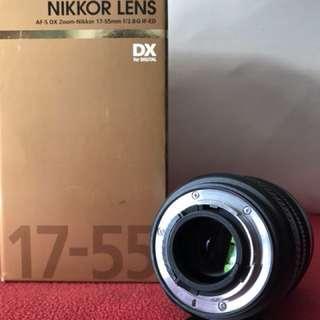 Af-S DX Zoom Nikkor 17-55mm f2/8G