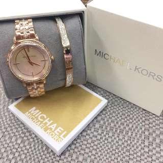 MK watch w/ box