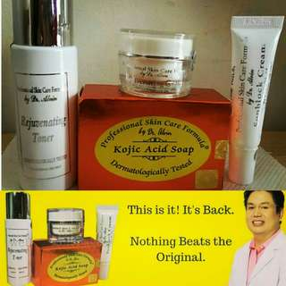 Dr. Alvin rejuvenating set is BACK!!!