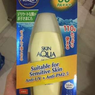 Sunplay sun aqua uv mild gel