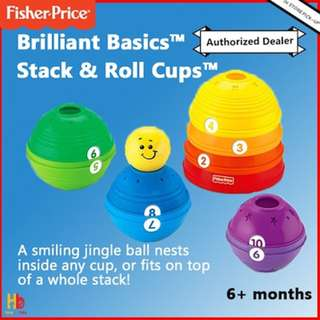 Fisher Price stack and roll cups