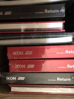 In Stock iKON Return Album