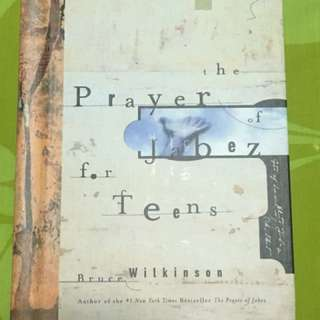 Prayer Jabez for teens