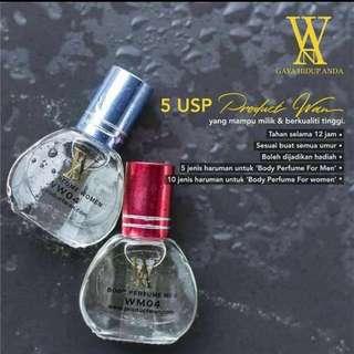 Wan Women Body Perfume