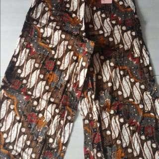Batik pants