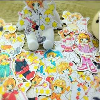 [Instock] Stickers Scrapebook/ Planner Stickers #58 (Cardcaptor Sakura)