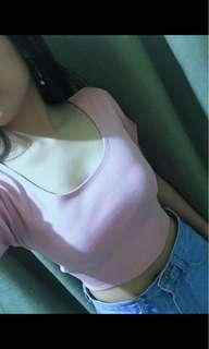 Croptop Pink