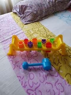 Hammering Bench Fun Time FREE Ongkir n Reprice