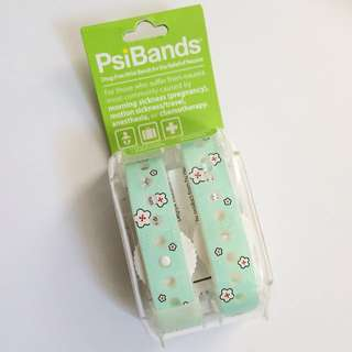 BNIB Psi Bands Acupressure Wrist Bands for Nausea Relief