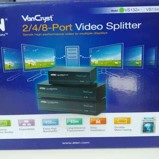 BRAND NEW ATEN 2 Ports video splitter support 2048x1536