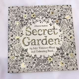 BN Secret Garden Colouring Book