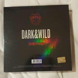 BTS Album - Dark & Wild